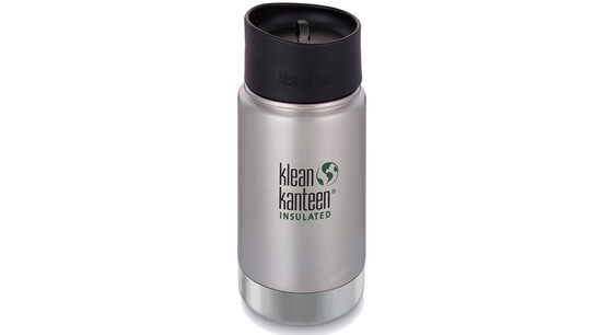 f3c1c5e9 klean kanteen insulated wide café bootle 12oz 355 ml brushed stainless gode  tilbud .